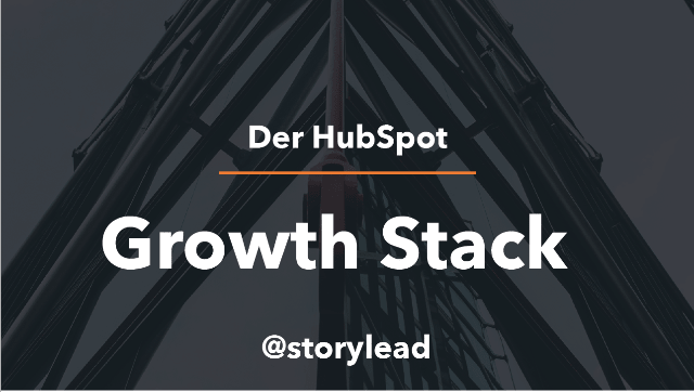 HubSpot Growth Stack @Storylead