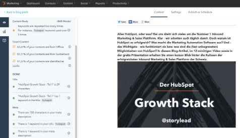 Blog erstellen und optimieren