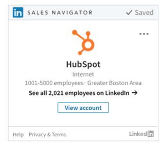 LinkedIn Sales Navigator View Company @Storylead.png