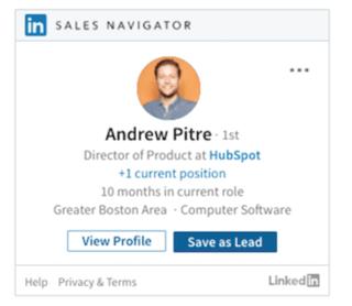 LinkedIn Sales Navigator View Contact @Storylead.png
