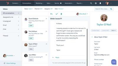 HubSpot Conversations Inbox