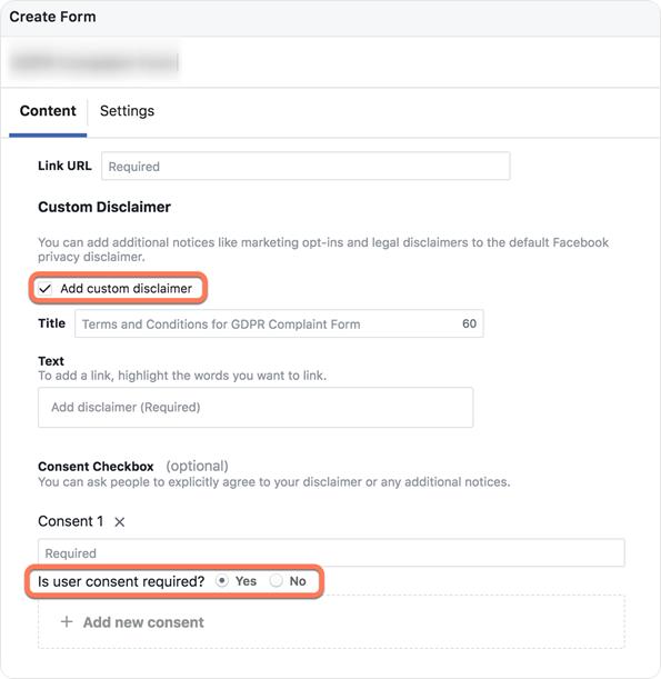 Facebook Lead Ads GDPR konform in HubSpot erstellen