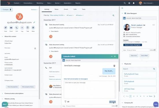 HubSpot_Sales Navigator