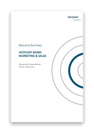 Executive Summary Account Based Marketing Sales