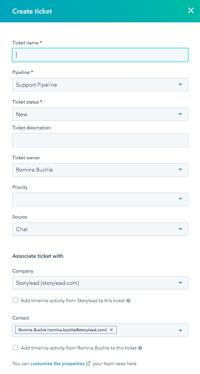 Ticket erstellen
