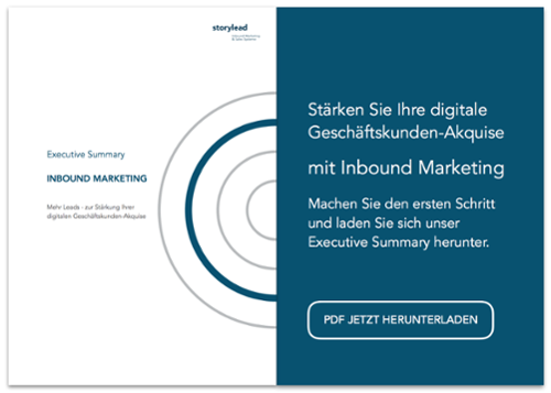 Executive Summary Inbound Marketing